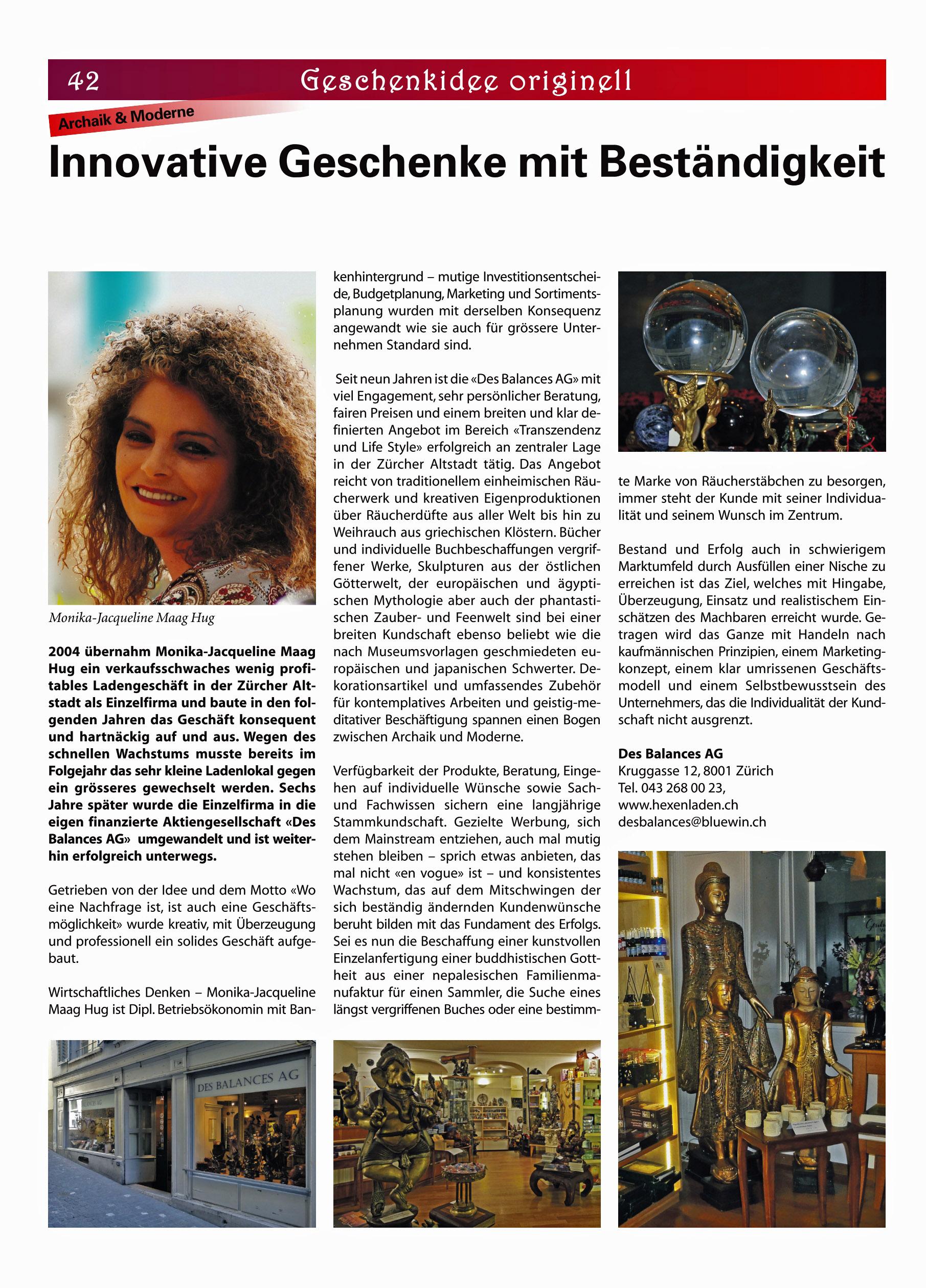 Des Balance AG – Hexenladen shop für Magie, Räucherwerk, Bücher, Schmuck, Pendel, Tarot, Statuen & Edelsteine